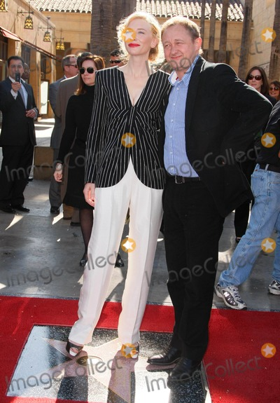 Andrew Upton, Cate Blanchett, CATE BLANCHETTE Photo - Cate Blanchett, Andrew Upton Actress & Husband Cate Blanchett Honored with a Star on the Hollywood Walk of Fame the Egyptian Theatre, Hollywood, California 12-05-2008 Photo by Graham Whitby Boot-allstar-Globe Photos, Inc.
