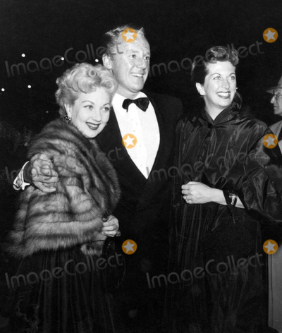 Ann Sothern, Van Johnson Photo - Ann Sothern, Van Johnson and Wife Evie Photo: Nate Cutler/Globe Photos Inc