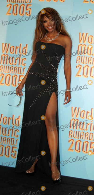 Traci Bingham, Tracy Bingham Photo - 2005 World Music Awards-pressroom Kodak Theatre, Hollywood, CA 08-31-2005 Photo: Clinton H.wallace-photomundo-Globe Photos Inc Traci Bingham