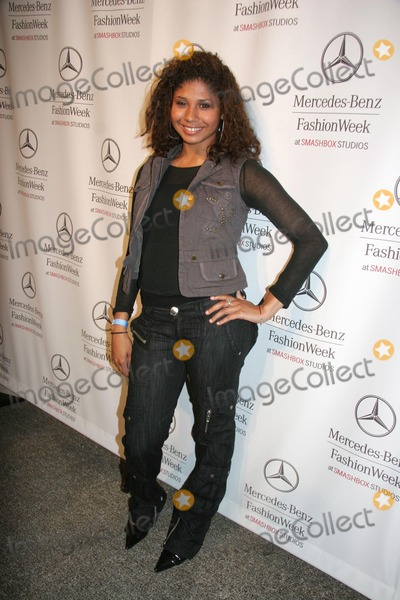 "Jackson Five, Kevan Hall, Randy Jackson, Genevieve Jackson, The Jackson Five, The Jacksons Photo - Mercedes-benz LA Fashion Week Fall 2007 - Kevan Hall - Celebrity Arrivals Smashbox Studios, Culver City, CA 03-22-2007 Genevieve Jackson - Daughter of Randy Jackson From ""the Jackson Five"" Photo: Clinton H. Wallace-photomundo-Globe Photos Inc"