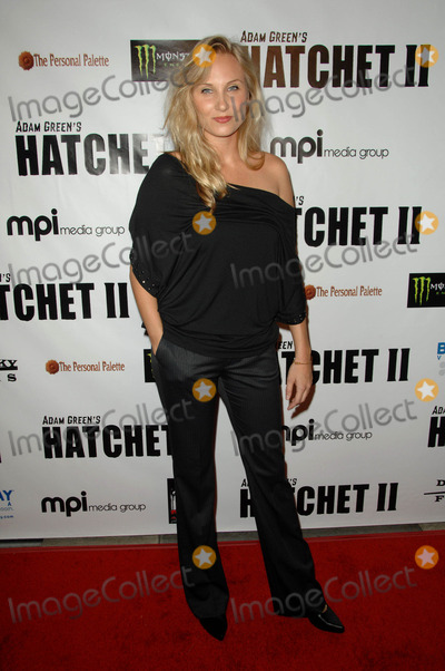 Alexis Peters Photo - Alexis Peters attending the Los Angeles Premiere of Hatchet Ii Held at the Egyptian Theatre in Hollywood, California on September 28, 2010 Photo by: D. Long- Globe Photos Inc. 2010