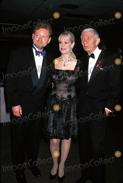 Aaron Spelling, Candy Spelling, Warren Littlefield Photo - 1994 Warren Littlefield, Aaron and Candy Spelling Photo by Lisa Rose-Globe Photos