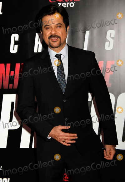 "Anil Kapoor Photo - Anil Kapoor Arrives For the Premiere of ""mission:impossible Ghost Protocol"" at the Ziegfeld Theatre in New York on December 19, 2011. Photo by Sharon Neetles/Globe Photos, Inc."