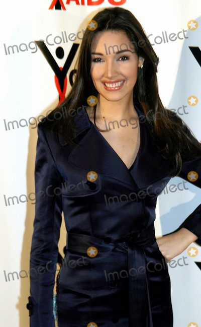 Amelia Vega, MISS UNIVERSE Photo - Second Annual Benefit Gala to Stop the Spread of Hiv / Aids Among Youth. Capitale , 130 Bowery , New York City. Photo; Rick Mackler / Rangefinders / Globe Photos Inc 2003 10/27/2003 Amelia Vega (Miss Universe)