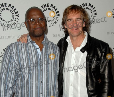 """Andre Braugher, Scott Bakula Photo - Annual Paleyfest Presents """"Men of a Certain Age"""" at the Saban Theatre in Los Angeles, CA 03-12-2010 Photo by Scott Kirkland-Globe Photos @ 2010 Andre Braugher and Scott Bakula"""