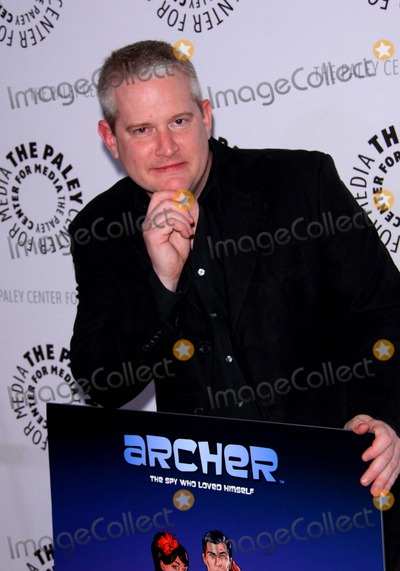 "Adam Reed Photo - Adam Reed. the Premiere of Fx's ""Archer"" Season Two Premiere Held at the Paley Center For Media, Beverly Hills, CA. January 25 - 2011. photo: Tleopold/globephotos"