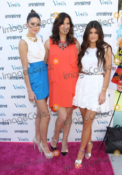 "Ann Shoket, Kendall Jenner, Kylie Jenner, Kendal Jenner Photo - Kylie Jenner; Kendall Jenner; Ann Shoket Attend Kendall and Kylie Jenner ""Summer with Seventeen Magazine Party"" on 2nd August 2012 at the W Hotel, Westwood.ca.usa. Photo: Tleopold/Globephotos"