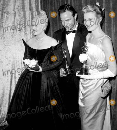 Photos and Pictures - Bette Davn Marlon Brando and Grace Kelly Academy Awards / Oscars Photo Bynate Cutler/Globe Photos Inc  sc 1 st  ImageCollect & Photos and Pictures - Bette Davn Marlon Brando and Grace Kelly ...