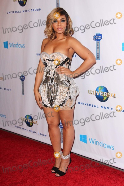 Ashanti, Ashanti Douglas Photo - Ashanti Douglas attends Universal Music Group Post Grammy Party on January 26th, 2014 at the Theatre at Ace in Los Angeles,california,usa. Photo:tleopold/Globephotos
