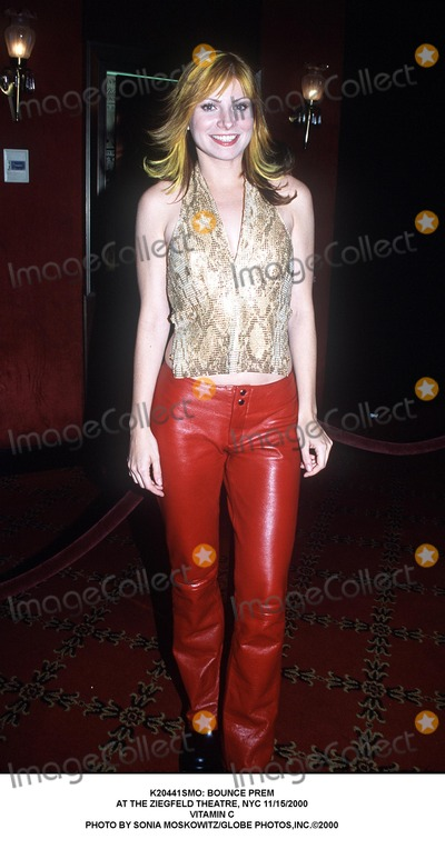 Vitamin C Photo - : Bounce Prem at the Ziegfeld Theatre, NYC 11/15/2000 Vitamin C Photo by Sonia Moskowitz/Globe Photos,inc.