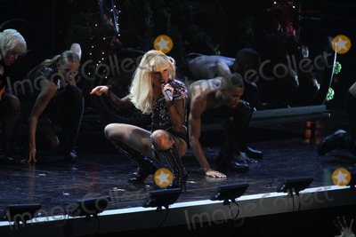 Photos and pictures lady gaga0 singing at z100 39 s jingle ball concert at madison square garden for Jingle ball madison square garden