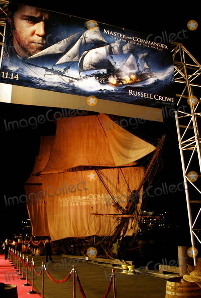 Photo - Hms Rose - Master and Commander: the Far Side of the World - Premiere - Broadway Pier, San Diego, CA - 11/09/2003 - Photo by Nina Prommer/Globe Photos Inc2003
