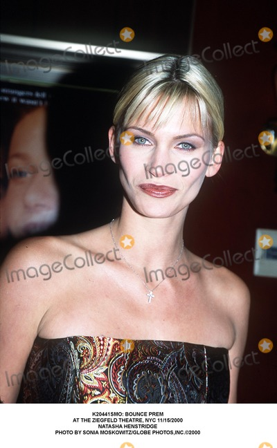 Natasha Henstridge Photo - : Bounce Prem at the Ziegfeld Theatre, NYC 11/15/2000 Natasha Henstridge Photo by Sonia Moskowitz/Globe Photos,inc.