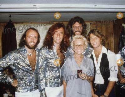 Andy Gibb Photo - Andy Gibb with Family 1979 Photo by Bob Sherman-Globe Photos, Inc.