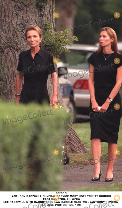 Lee Radziwill, Carole Radziwill Photo - Anthony Radziwill Funeral Service Most Holy Trinity Church East Hampton, L.i. (8/13) Lee Radziwill with Daughter in Law Carole Radziwill (anthony's Widow) Globe Photos, Inc.