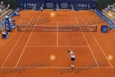 Oscar Hernandez Photo - Estoril Tennis Open 2009 - Men's Singles in Estoril , Portugal 05-08-2009oscar Hernandez (Esp) and Paul Capdeville (Chi). Photo: Octavio Passos-cityfiles-Globe Phtos, Inc.