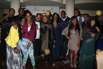 "Alicia Etheridge, Bobbi Brown, Bobby Brown, Flex, Flex Alexander, New Edition, Ricky Bell, Shanice, Shondrella Avery, Belle Amie Photo - Shondrella's ""Blurific"" Birthday Party Los Feliz Estates, Los Angeles, CA 04/26/2014 Bobby Brown, Shondrella Avery and Ade Kester with New Edition's Ricky Bell and His Wife Amy Bell, Bobby Brown and Wife Alicia Etheridge, Flex Alexander and Wife Shanice Clinton H. Wallace/Globe Photos Inc"