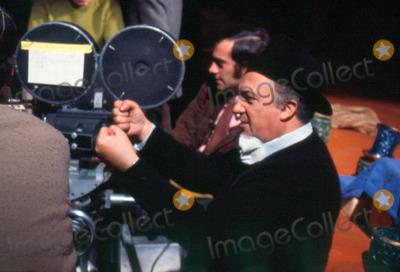 Photo - Frederico Fellini Directs Satyricon Photo: Bob Dear/Globe Photos Inc