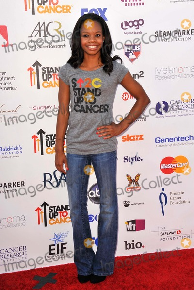 Gabrielle Douglas Photo - Gabrielle Douglas attending the Third Annual Stand Up to Cancer Held at the Shrine Auditorium in Los Angeles, California on September 7,2012 Photo by: D. Long- Globe Photos Inc.
