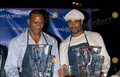 Boris Kodjoe, Henry Simmons, Henri Simmons Photo - Make-a-wish Foundation 11th Annual Wine Tasting and Auction. the Barker Hangar, Santa Monica, CA. 03/13/04 Photo by Milan Ryba/Globe Photos Inc.2004 Henry Simmons, Boris Kodjoe