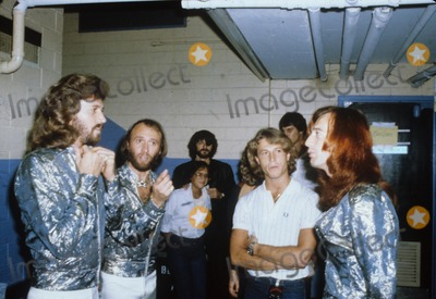 Andy Gibb, Bee Gees, Robin Gibb, The Bee GEES, The Bees Photo - Robin Gibb with Andy Gibb the Bee Gees Photo by Bob Sherman-Globe Photos, Inc.