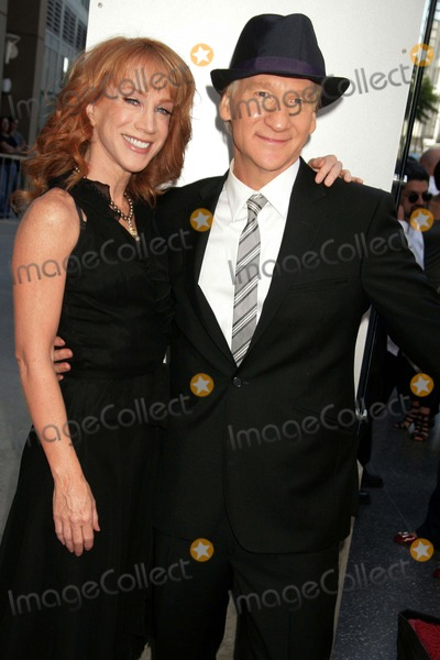 Bill Maher, Kathy Griffin, Vines, KATHIE GRIFFIN Photo - Bill Maher Honored with Star on the Hollywood Walk of Fame Hollywood & Vine, Hollywood, CA 09/14/2010 Kathy Griffin and Bill Maher Photo: Clinton H. Wallace-photomundo-Globe Photos Inc