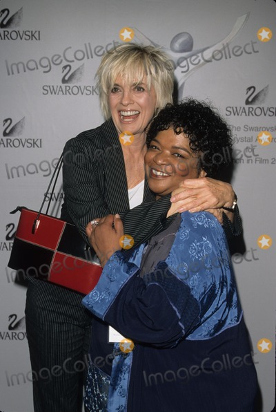 Linda Gray, Nell Carter Photo - Nell Carter with Linda Gray Crystal Awards at Century Plaza Hotel in Los Angeles 2001 K22052fb Photo by Fitzroy Barrett-Globe Photos, Inc.