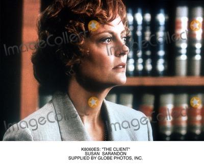 "Susan Sarandon Photo - : ""the Client"" Susan Sarandon Supplied by Globe Photos, Inc."