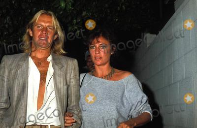 Alexander Godunov, Jacqueline Bisset Photo - Jacqueline Bisset 10-1983 with Alexander Godunov 12985 Photo by Phil Roach-ipol-Globe Photos