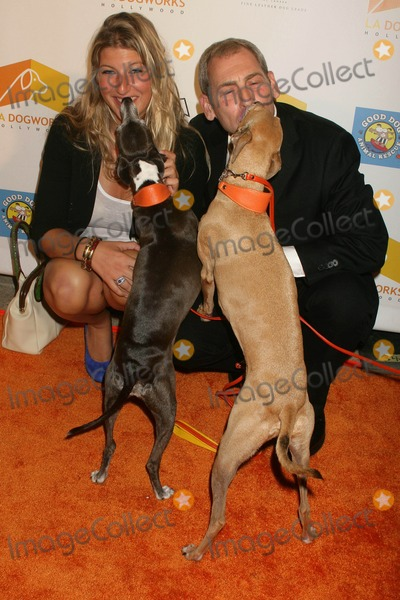 """Tara Summers, Tara Summer Photo - """"a Night of Emotions"""" at LA Dogwork's Fundraising Event LA Dogworks, Hollywood, California 09-23-2009 Tara Summers and Andrew Rosenthal - Founder of LA Dogworks Photo by Clinton H. Wallace-ipol-Globe Photos Inc"""
