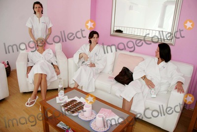 Angel Boris, Brande Roderick, Carrie Stevens, Playboy Bunnies, Playboy Bunny Photo - Playboy Bunnies at the Evian Detox Spa Beverly Hills, CA 03-21-2006 Photo: Clinton H. Wallace/photomundo/Globe Photos Brande Roderick, Angel Boris and Carrie Stevens