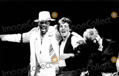 Bruce Springsteen, Clarence Clemons, E Street Band Photo - Clarence Clemons, Bruce Springsteen and E Street band