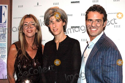 """Nina Garcia, Andrew Cohen Photo - K46188KRELLE PROJECT HOSTS VIEWING PARTY FOR 2ND SEASON PREMIERE OF BRAVO'S """"PROJECT RUNWAY"""" AND LAUNCH OF PROJECT RUNWAY MAGAZINE. AER, NEW YORK CITY 12-07-2005PHOTO BY KEN RUMMENTS-GLOBE PHOTOS 2005NINA GARCIA, FASHION DIRECTOR FOR ELLE CARMEN ZIAZNICK, PRESIDENT OF BRAVO AND ANDREW COHEN"""