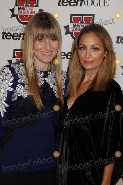 Amy Astley, Nicole Richie Photo - Teen Vogue Fashion University Kicks Off Seventh Year the Hudson Theatre, NYC October 20, 2012 Photos by Sonia Moskowitz, Globe Photos Inc 2012 Amy Astley, Nicole Richie