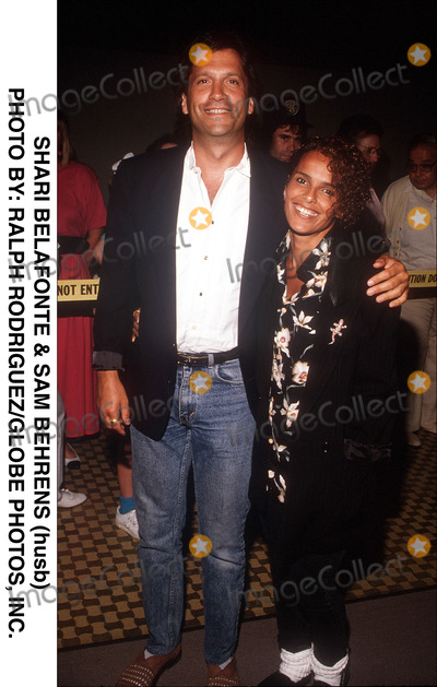 photos and pictures shari belafonte amp sam behrens husb