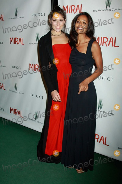 "Stella Schnabel, Rula Jebreal Photo - ""Miral"" Premiere United Nations General Assembly Hall, NYC March 14, 2011 Photos by Sonia Moskowitz, Globe Photos Inc 2011 Stella Schnabel, Rula Jebreal"