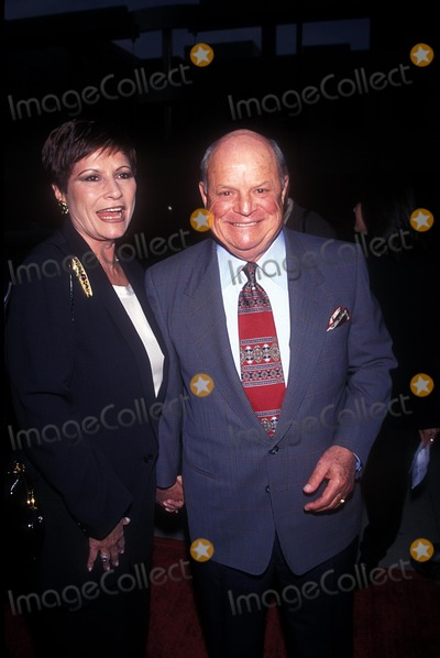 """Don Rickles Photo - Don Rickles with Barbara Sklar """"Last Dance"""" Premiere in Los Angeles 1996 Photo by Fitzroy Barrett-Globe Photos, Inc."""
