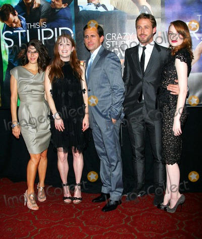 "Emma Stone, Julianne Moore, Marisa Tomei, Ryan Gosling, Steve Carell, RYAN GOSLING, Photo - Marisa Tomei, Julianne Moore, Steve Carell, Ryan Gosling and Emma Stone Arrive For the Premiere of ""Crazy Stupid Love"" at the Ziegfeld Theater in New York on July 19, 2011. Photo by Sharon Neetles/Globe Photos, Inc."