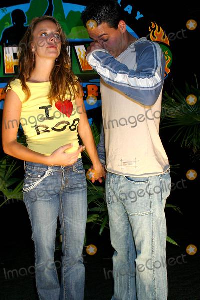 Amber Brkich, Rob Mariano Photo - Survivor: Allstars Castaways at Madison Sqaure Garden, New York City 05/09/2004 Photo: Rick Mackler / Rangefinders / Globe Photos Inc 2004 Amber Brkich_rob Mariano