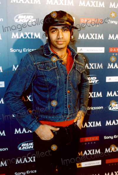 Anand Jon, Michelle Branch Photo - Maxim Sno Magazine Party Hosted by January Cover Girl Michelle Branch in New York City 12/10/2003 Photo By:ken Rumments/Globe Photos Inc 2003 Anand Jon