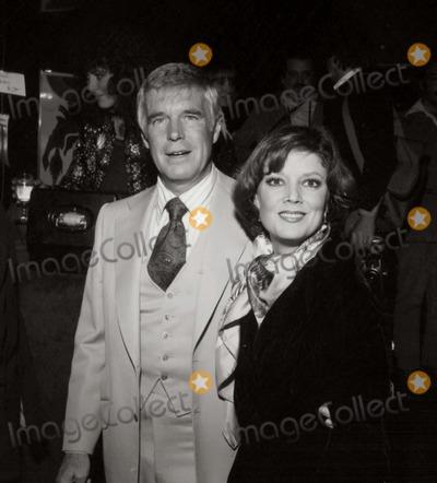 George Peppard Photo - George Peppard/wife Sherri Photo: Nate Cutler/Globe Photos Inc