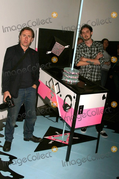 """Tim Roth, Pixies Photo - """"Kill Pixie"""" Hosted by Tim Roth Merry Karnowsky Gallery, Los Angeles, California 05-30-2009 Tim Roth with Artists Kill Pixie Photo: Clinton H. Wallace-photomundo-Globe Photos Inc"""