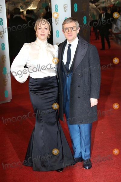 Amanda Abbington, Martin Freeman Photo - Actor Martin Freeman and Amanda Abbington Arrive at the Ee British Academy Film Awards at the Royal Opera House in London, England, on 10 February 2013. Photo: Alec Michael Photo by Alec Michael- Globe Photos, Inc