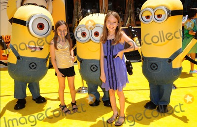 "Mykayla Sohn, Hannah Sohn Photo - Mykayla Sohn, Hannah Sohn attending the Los Angeles Premiere of "" Despicable Me 2 Held at the Universal Studios Gibson Amphitheatre in Universal City, California on June 22, 2013 Photo by: D. Long- Globe Photos Inc."