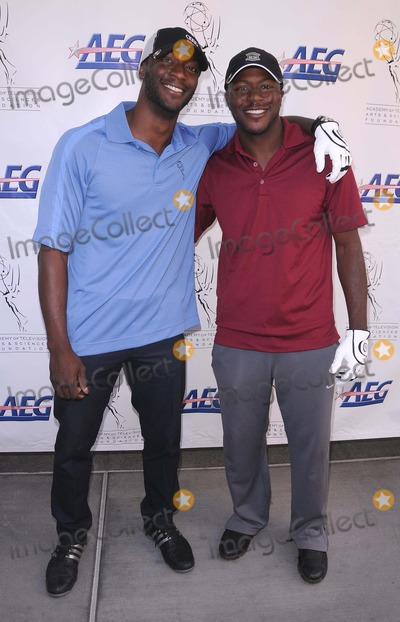Aldis Hodge, Edwin Hodge, Aldis Hodges Photo - Academy of Television Arts & Sciences 12th Primetime Emmy Celebrity Tee-off at the Oakmont Country Club in Glendale, CA 9/12/11 Photo by Scott Kirkland-Globe Photos   2011 Aldis Hodge and Edwin Hodge