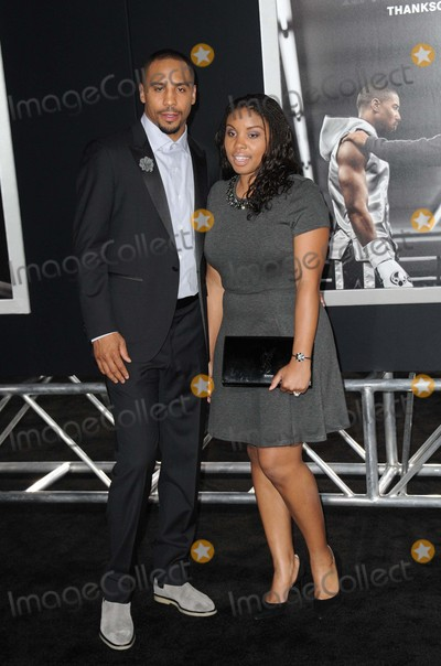 "Creed, Andre Ward Photo - Andre Ward attending the Los Angeles Premiere of ""Creed"" Held at the Regency Village Theater in Westwood, California on November 19, 2015 Photo by: David Longendyke-Globe Photos Inc."