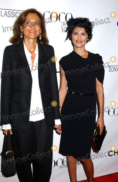 """Audrey Tautou, Anne Fontaine, Coco Photo - Anne Fontaine and Audrey Tautou attends the Premiere of """"Coco Before Chanel"""" at the Pacific Design Center West Hollywood, CA. 09-09-2009 Photo by Phil Roach-ipol-Globe Photos, Inc"""