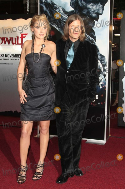 Amber Heard, Crispin Glover Photo - Amber Heard and Crispin Glover - Beowulf - Premiere - Mann Village Theater, Westwood, California - 11-05-2007 - Photo by Nina Prommer/Globe Photos Inc2007