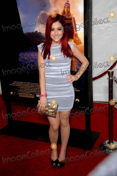 Grauman's Chinese Theatre, Arianna Grande Photo - Arianna Grande During the Premiere of the New Movie From Paramount Pictures the Lovely Bones, Held at Grauman's Chinese Theatre, on December 7, 2009, in Los Angeles. Photo: Michael Germana - Globe Photos, Inc. 2009