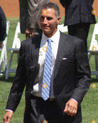 Andy Pettitte Photo - New York Yankees Retire Andy Pettitte Number46 on Sunday August 23rd 2015 Jose Posada Number 20 Was Also Retired on Saturday August 22nd 2015!!! Photo by William Regan- Globe Photos Inc.